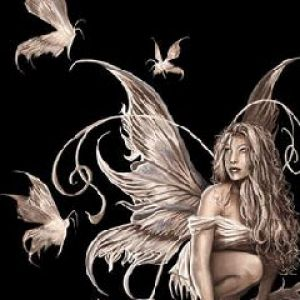 Gold Butterfly Fairy
