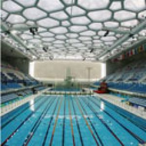 Pool Ready for Swimmers Beijing
