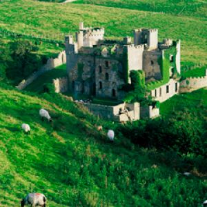 Clifden Castle - County Galway - Ireland