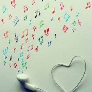 Headphones music love