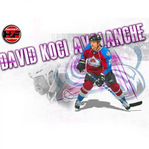David KoÄŤĂ­ Colorado Avalanche