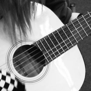 Emo Girl with Guitar